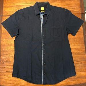 Hugo BOSS casual short sleeve button down shirt L